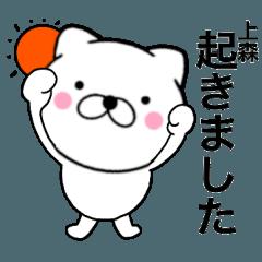 【上森】が使う主婦が作ったデカ文字ネコ
