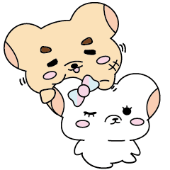 Billy and Libu Bear