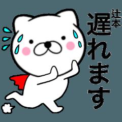 【辻本】が使う主婦が作ったデカ文字ネコ
