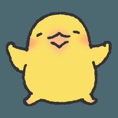 お豆なヒヨコ、ひよまめスタンプ