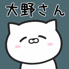 【大野】さんが使う猫