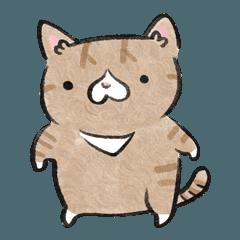 Garlic nose cat