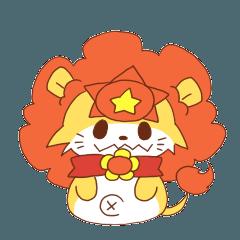 太陽のライオンさん