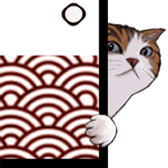 ちらリズムな猫たち【動】