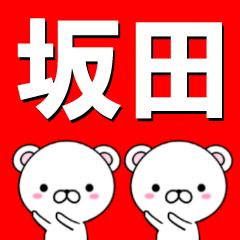 超★坂田(さかた・さかだ)なクマ