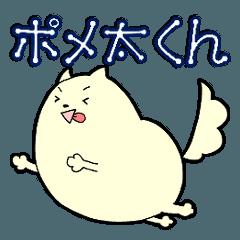 [LINEスタンプ] ポメ太くん (1)