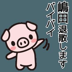 嶋田と島田の対決