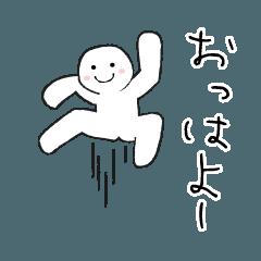 [LINEスタンプ] ▶せかせか動く誰でも使えるスタンプ