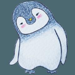 [LINEスタンプ] かわいいペンギンPenko