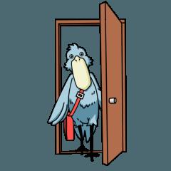 怪鳥?快鳥?ハシビロコウ Ver.2