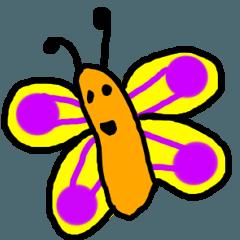 Butterfly emotion