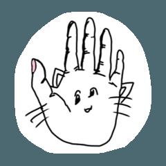 手話 ネコ