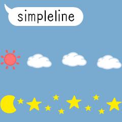 動く♪ 小さなシンプルライン ver.2