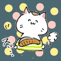 [LINEスタンプ] 和ネコさんのゆるゆるスタンプ(S) (1)