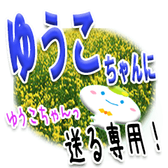★ゆうこちゃんに送る★専用(写真背景付き)