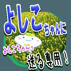 ★よしこちゃんに送る★専用(写真背景付き)