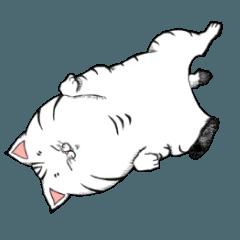 ネコ飢え防止スタンプ~猫アレルギー対応~