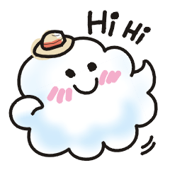 Animations of a cute cloud.