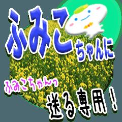 ★ふみこちゃんに送る★専用(写真背景付き)