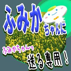 ★ふみかちゃんに送る★専用(写真背景付き)