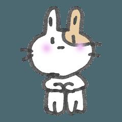 アヤコのウサギスタンプ