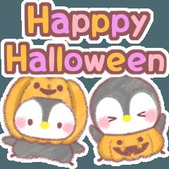 ❤️メッセージぺんぎん❤️秋&ハロウィン