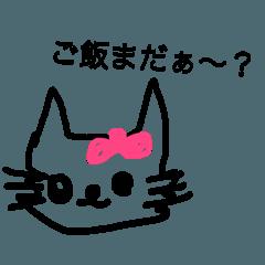 猫の気持ちニャー
