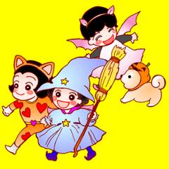 ORY+t little little ; ハロウィーン 秋