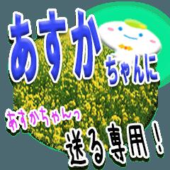 ★あすかちゃんに送る★専用(写真背景付き)