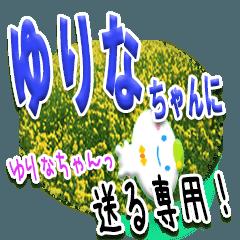 ★ゆりなちゃんに送る★専用(写真背景付き)