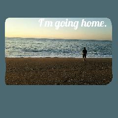 大海、帰ります