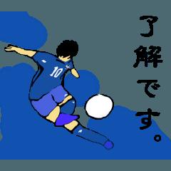 サッカースタンプ since1974