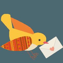 小鳥の手紙