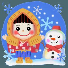 雪ん子2018
