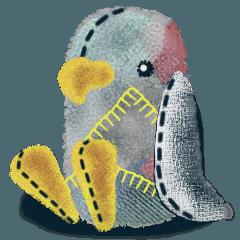 ぬいぐるみのペンギン