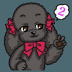 Lovely☆黒プードル♪ 2