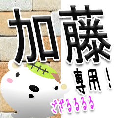 ★武士語の加藤さん★専用(写真背景付き)