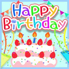 動く☆お誕生日♥お祝い♥年間イベント