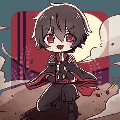 [LINEスタンプ] 紅雨