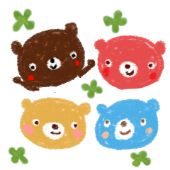 【Happy Clover Bears 1.】
