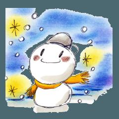 Happy 雪だるま