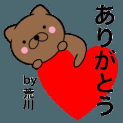 【荒川】が使う主婦が作ったデカ文字ネコ