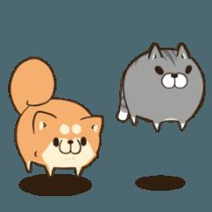 ボンレス犬とボンレス猫 む~ぶ