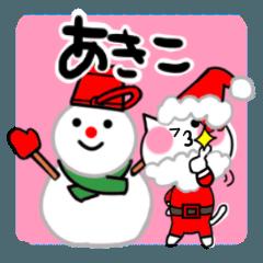 あきこさんが使うスタンプ(秋・冬・正月)