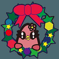 かわいいクリスマス用スタンプ