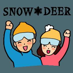Snow Deerのスノーボード生活