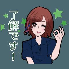 【ワトリック公式】ジーンさんスタンプ