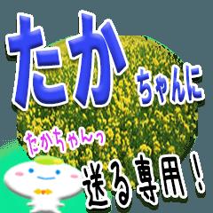 ★たかちゃんに送る★専用(写真背景付き)