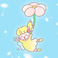 妖精の敬語スタンプ