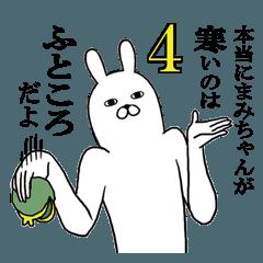 まみちゃんが使う面白名前スタンプ4【冬】